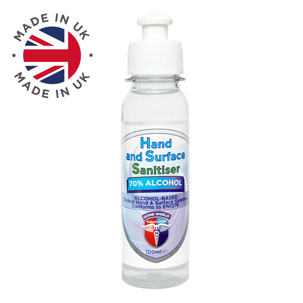 Hand Sanitiser bottle Homeshield