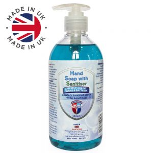 Hand Soap Sanitiser bottle homeshield