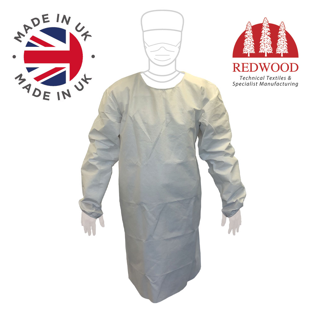 Redwood medical barrier gowns